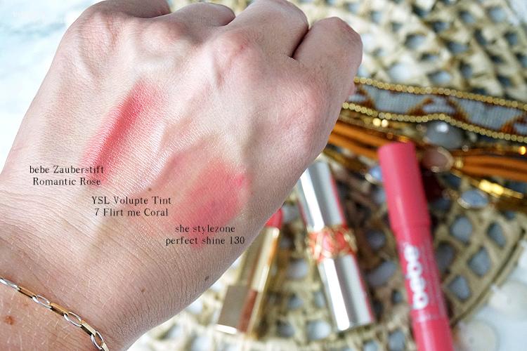 Themenwoche liebste Lippenprodukte für den Sommer in pink und koralle