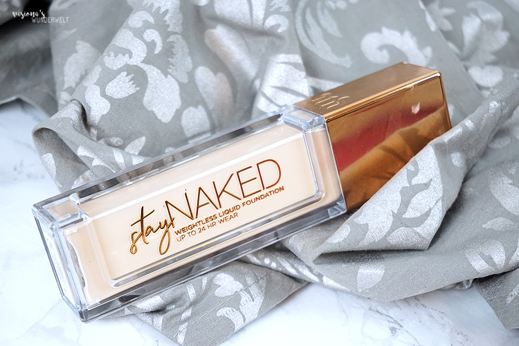 Urban Decay Stay Naked Foudnation 11NN Review