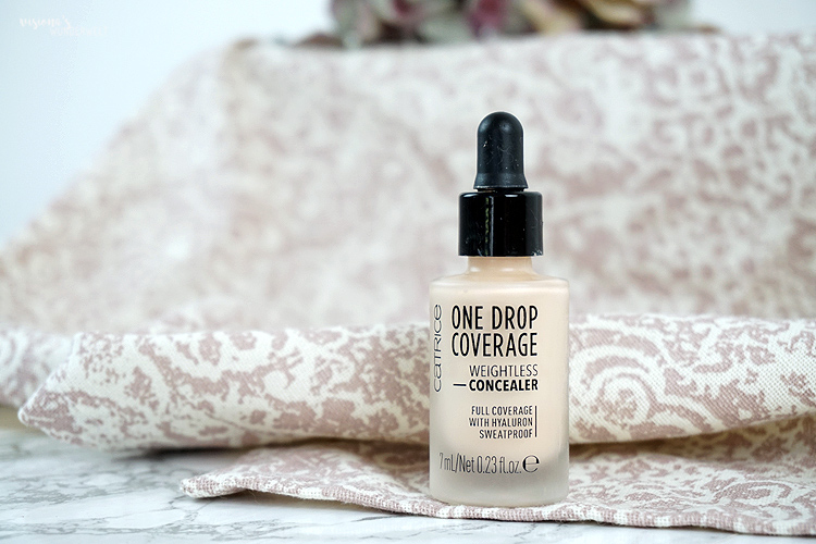 Ride or Die Makeup Produkte Lidschattenbase Catrice One Drop Coverage Concealer