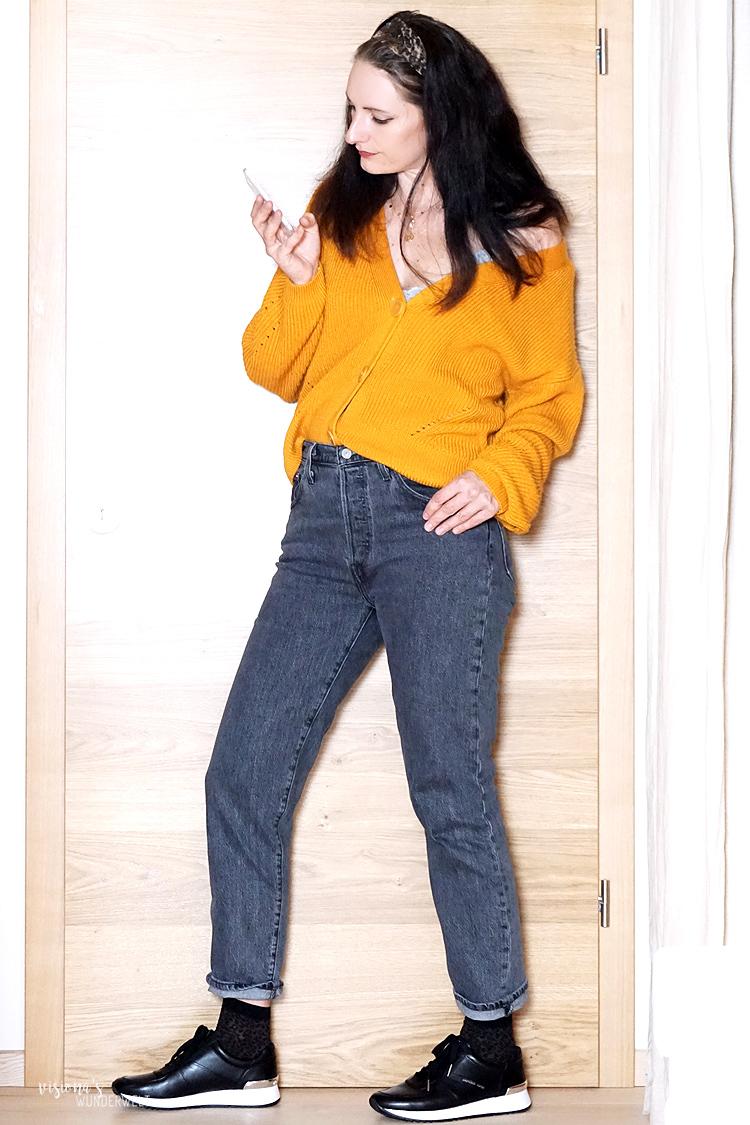 Trends in meiner Herbst Capsule Wardrobe 2019 Casual Levis 501 Style