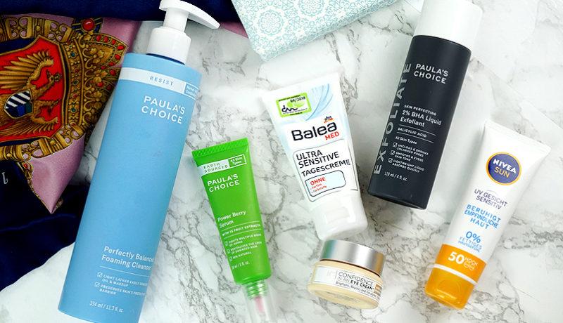 Gesichtspflege Routine mit Paulas Choice, it cosmetics, Balea, Nivea #skincaresunday