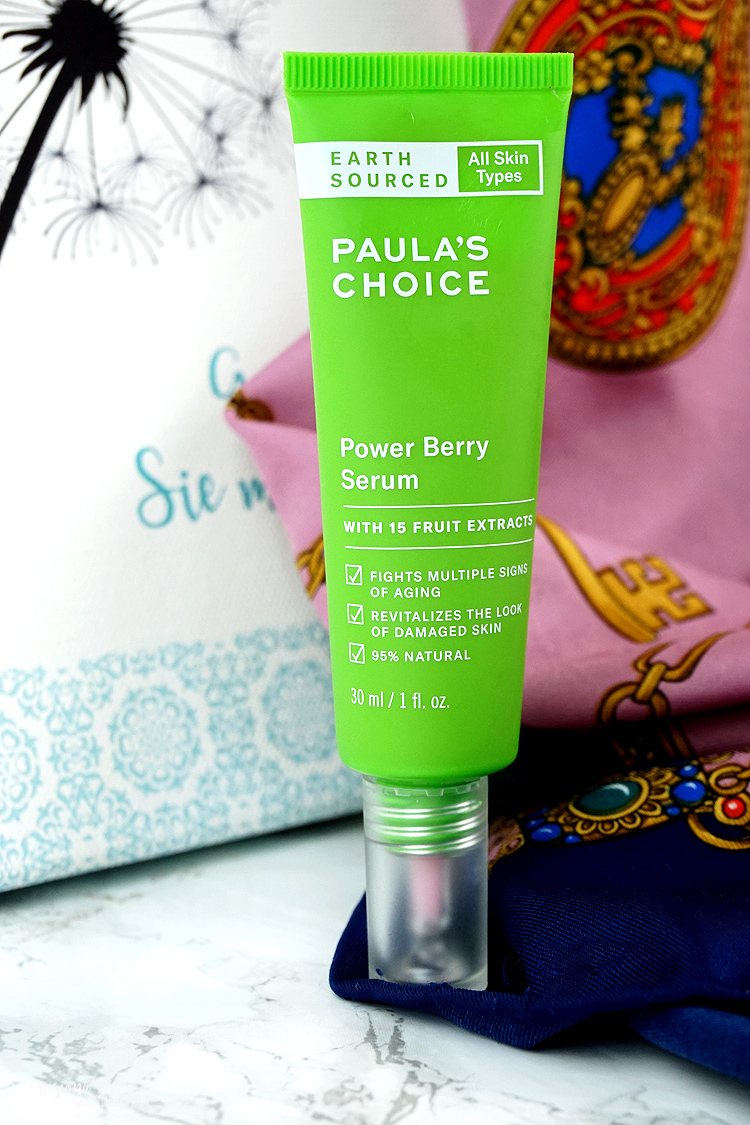 skincaresunday gesichtspflege routine mit paulas choice power berry serum