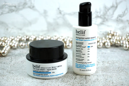 Endlich in Europa angekommen – Review zur Belif The True Cream Aqua Bomb und Belif Hungarian Water Essence