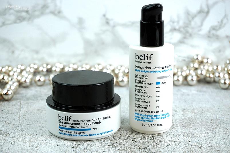 Korean Beauty Belif Aqua Bomb und Hungarian Water Essence Review