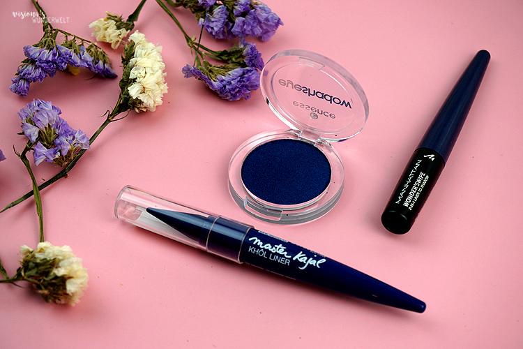 Pantone Color Classic Blue Augenmakeup Produkte