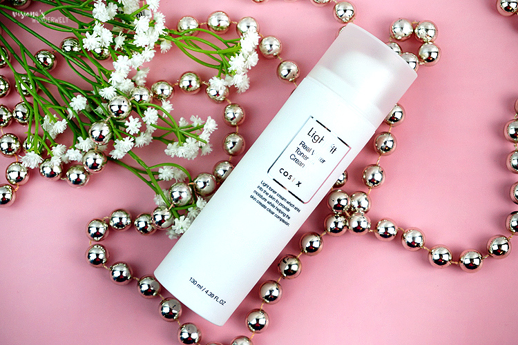 CosrX Light Fit Cream Toner Cream Skin Trend