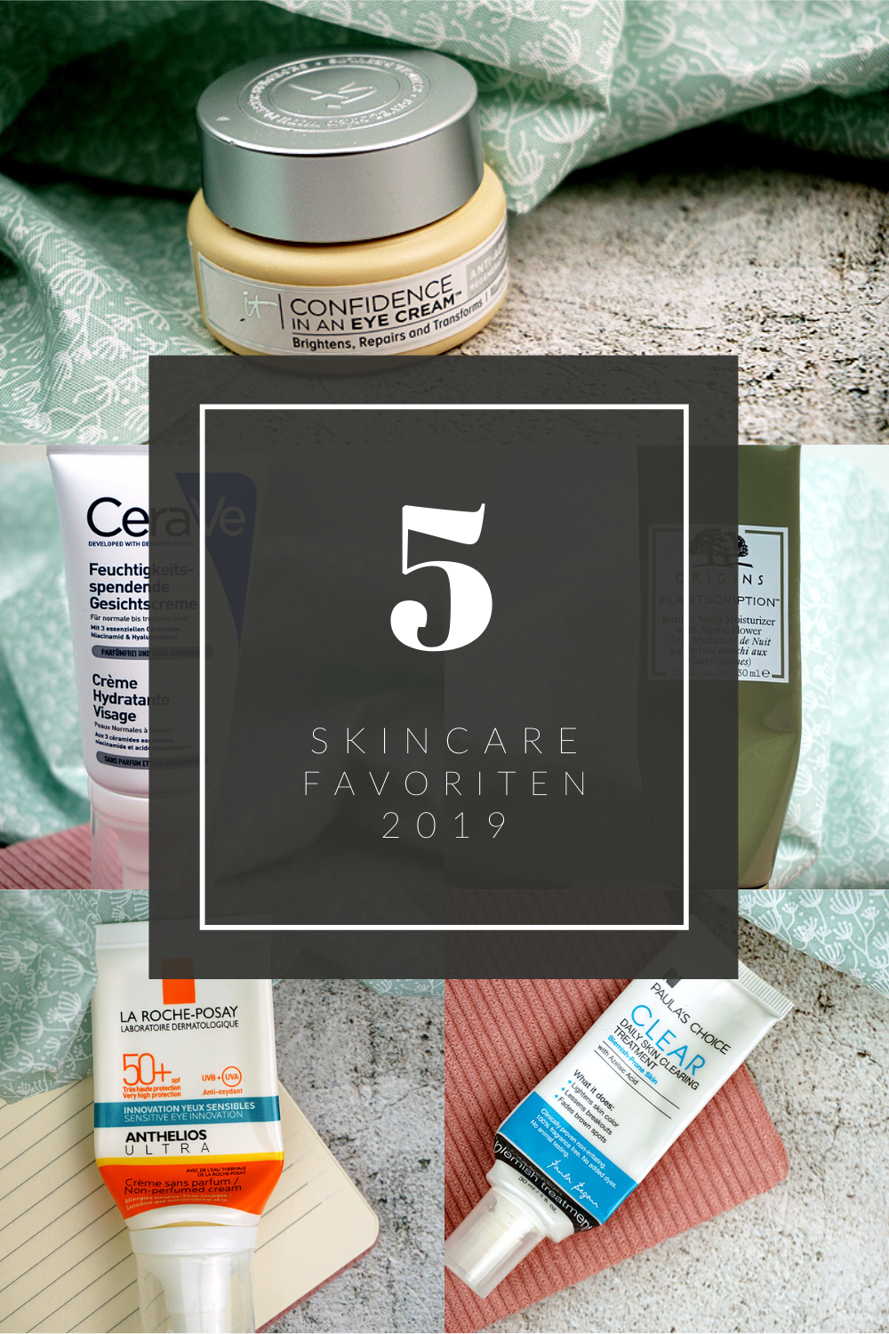 5 skincare favoriten 2019