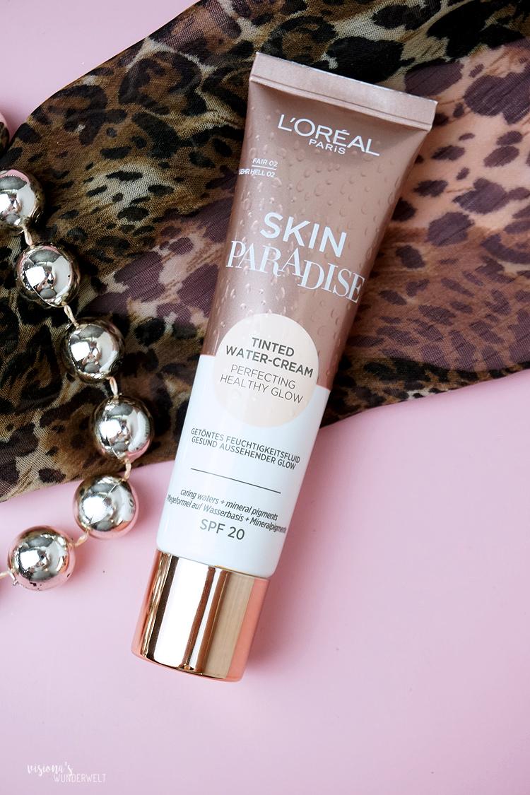 Makeup Beauty Neuzugänge Loreal Skin Paradise Tinted Water Cream in Nuance Fair 02