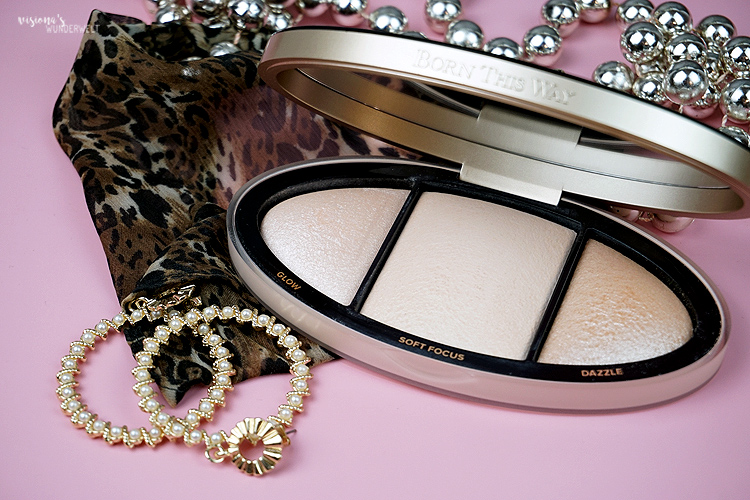 New in my makeup bag too faced born this way highligher palette