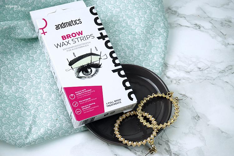 bestes augenbrauen beauty tool von andmetics sind die Brwo Wax Stripes