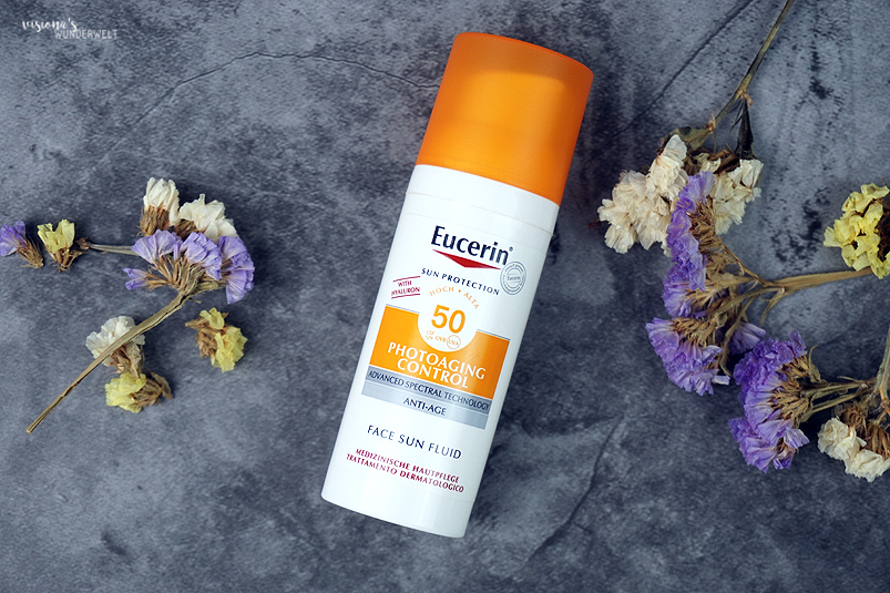 review eucerin face sun fluid