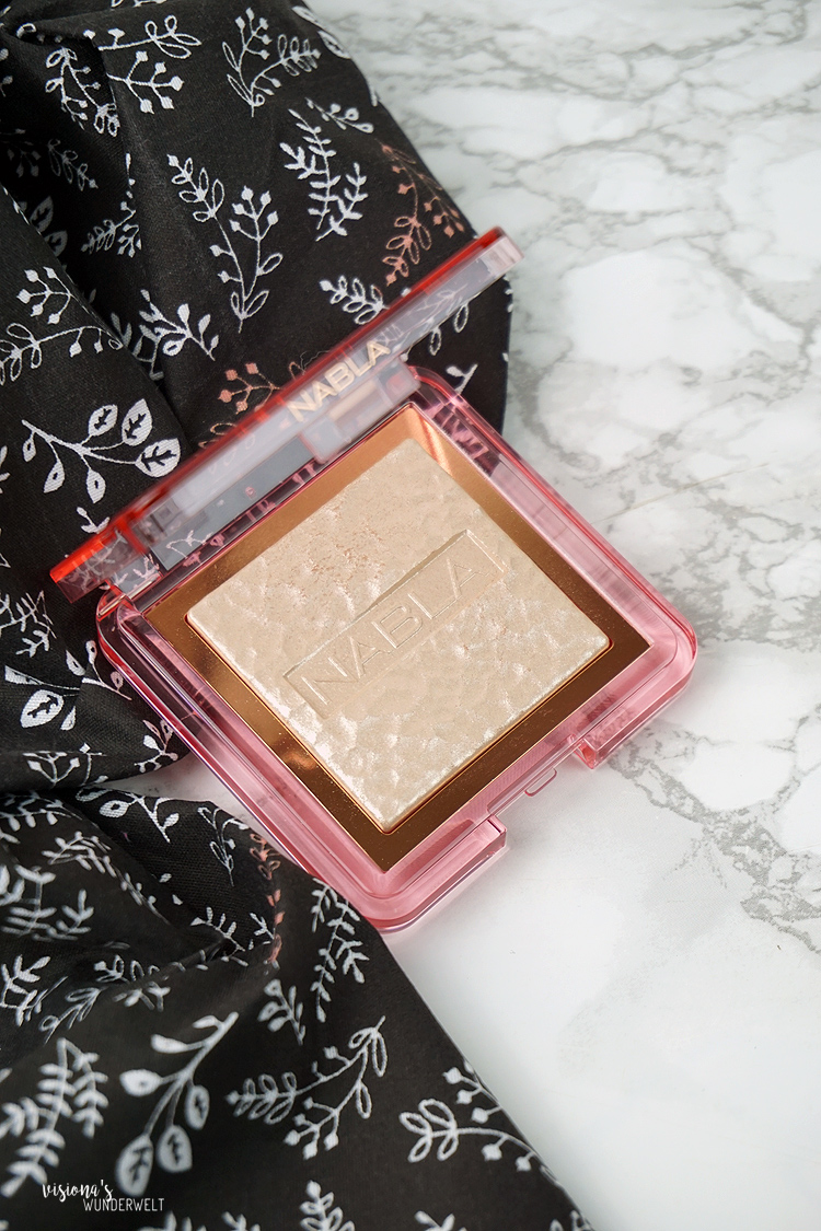 nabla cosmetics skin glazing ozon highlighter review