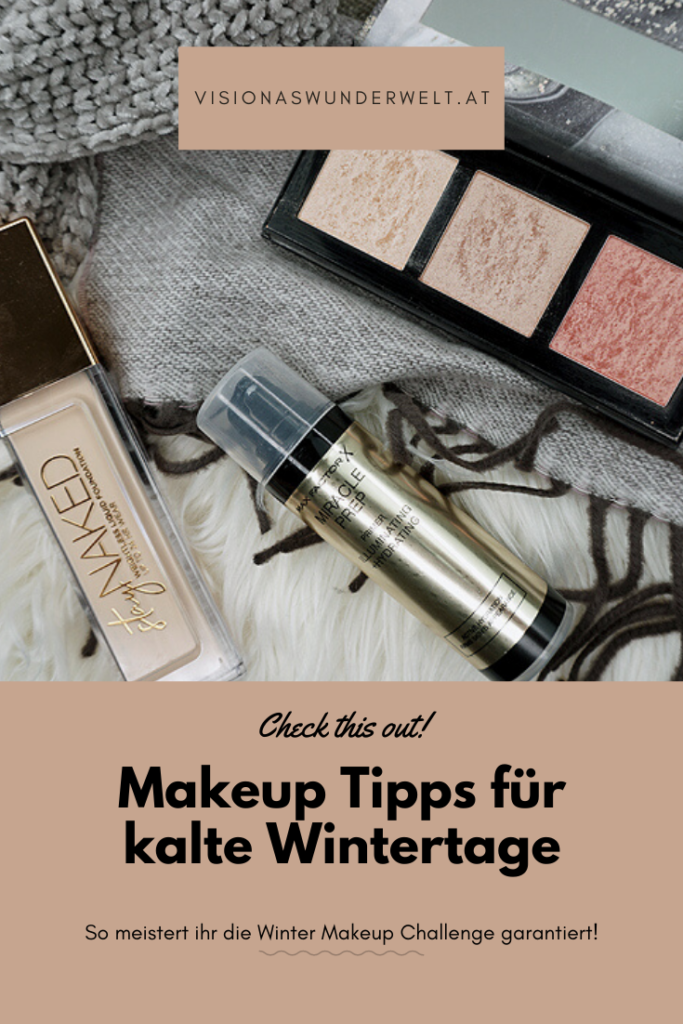 Makeup Tipps für kalte Wintertage