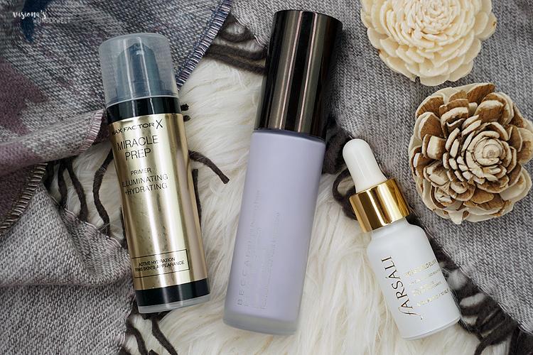 Feuchtigkeitsspendende Primer und Öle sind die perfekte Basis für Makeup im Winter.