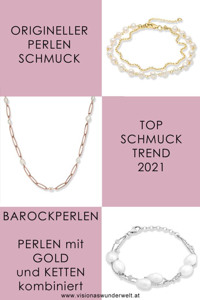 Origineller Perlenschmuck als Top Schmucktrend 2021